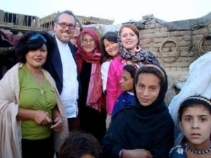 Paul and Ann in Afghanistan