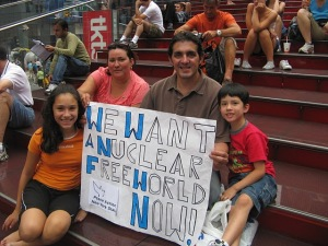 We want a nuke free world Picture Petition 041