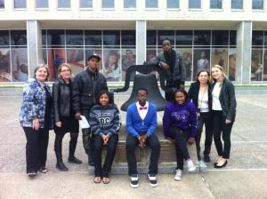 American Friends Service Committee youth delegation to the US Department of Education on April 15, 2013.