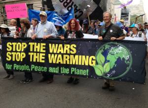 stop the wars stop the warming