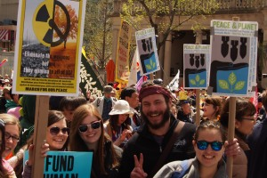 peace and planet rally youth