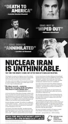 RJC Nuclear Iran Ad