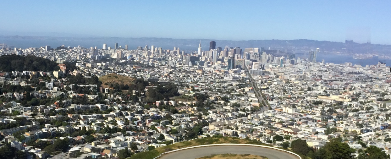 Panoramic View from Twin Peaks